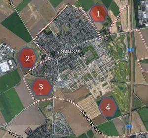 Potentialflächen in Widdersdorf